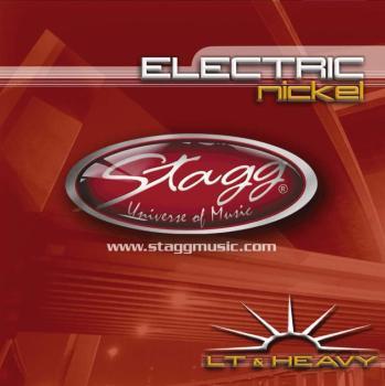 Nickel plated steel set of strings for electric guitar (ST-EL-1052)