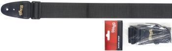"2"" Black Guitar strap (ST-BJA006BK)"