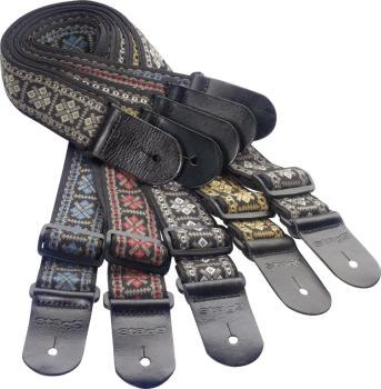 Guitar strap pack including 20 woven nylon guitar straps with cross pa (ST-SPACK CRO)