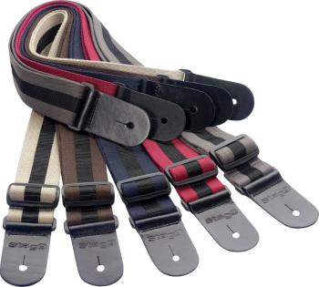 "Guitar strap pack incl. 20 woven nylon guitar straps with ""GT"" pattern (ST-SPACK GT)"
