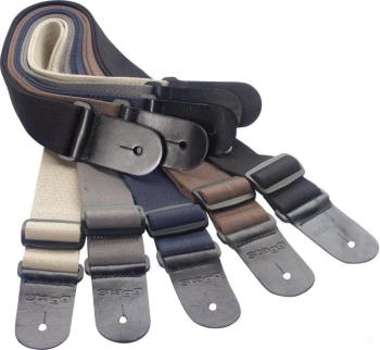 Guitar strap pack including 20 woven cotton guitar straps (ST-SPACK COT)