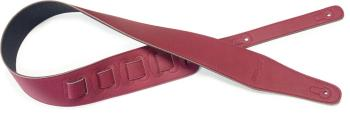 Burgundy suede style guitar strap (ST-SFS 10 BGY)
