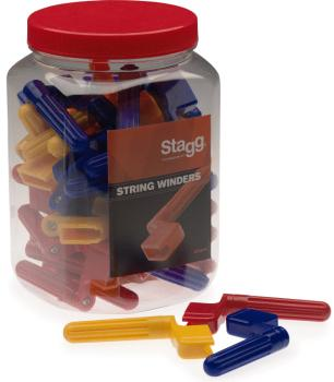 String winders with bridge pin remover (ST-GSW-40)