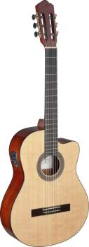 Mencia series cutaway acoustic-electric classical guitar with solid sp (AN-MEN CE S)