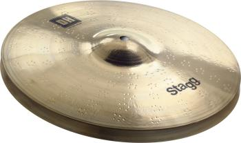 "Dual Hammered 14"" DH Brilliant Fat HiHat - Pair (ST-DH-HF14)"