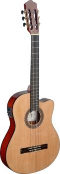 Mencia series cutaway acoustic-electric classical guitar with thin bod (AN-MEN TCE S)