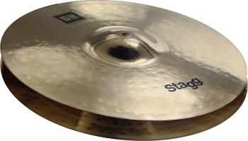"Dual Hammered 15"" DH Brilliant Medium HiHat - Pair (ST-DH-HM15B)"