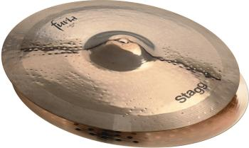 "15"" Furia Brilliant Rock Hi-Hat - Pair (ST-F-HR15B)"