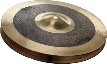 "10"" Black Metal Rock Hi-Hat - Pair (ST-BM-HR10)"