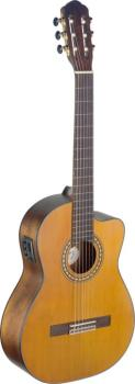 Silvera series 4/4 cutaway acoustic-electric classical guitar with sol (AN-SIL-CE M)