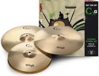 Brass cymbal starter set (ST-CXG SET)