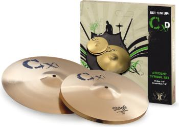 Standard brass cymbal set (ST-CXD SET)