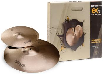 B8 Bronze Cymbal Set for beginners/ students (ST-EXA SET)