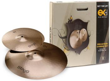 B8 Bronze Cymbal Set for beginners/ students (ST-EXD SET)