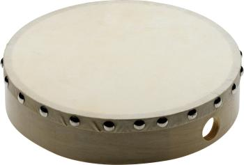 "8"" Pretuned wooden hand drum with rivetted skin (ST-SHD-1008)"