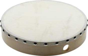 "10"" Pretuned wooden hand drum with rivetted skin (ST-SHD-1010)"