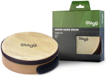 "6"" Pretuned wooden hand-drum (ST-TAWH-060)"