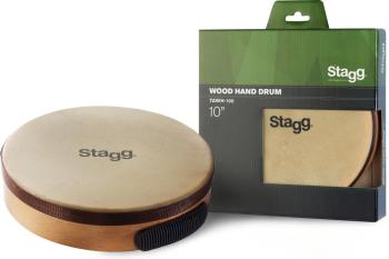 "10"" Pretuned wooden hand-drum (ST-TAWH-100)"