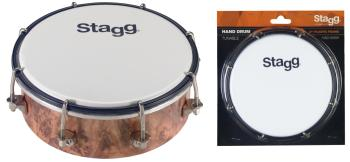 "6"" Tunable plastic hand-drum (ST-HAD-006W)"