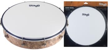 "12"" Tuneable plastic hand-drum (ST-HAD-012W)"