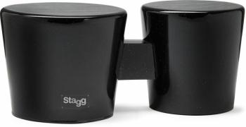 """7.5"""" & 6.5"""" All-wood """"Cajon"""" bongos (ST-BWW10-BK)"""
