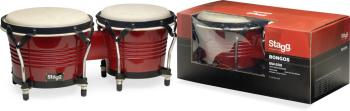 "7.5"" and 6.5"" wild-cherry-coloured Latin wood bongos (ST-BW-200-CH)"
