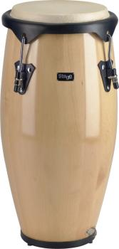 """9"""" Portable Wood Conga with strap (ST-PCW-9)"""