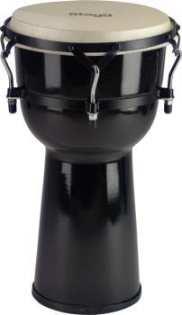 "10"" Black fibreglass Djembe (ST-DPY-10-BK)"