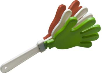 Plastic Go-Go hand-clapper in the Italian national colours (ST-GGH-IT)