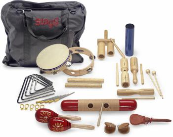 Junior percussion kit with bag (ST-CPJ-05)