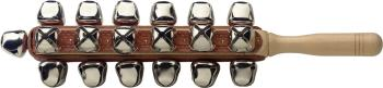 Set of sleigh bells on a stick w/25 bells (ST-SLB-25)