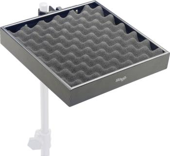 Percussion tray with clamp for stand (ST-PCTR-3030 BK)