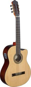 Cereza series cutaway acoustic-electric classical guitar with solid sp (AN-CER CE S)