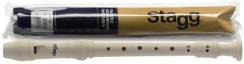 Soprano recorder, Baroque fingering, plastic, in pouch (ST-REC-BAR)