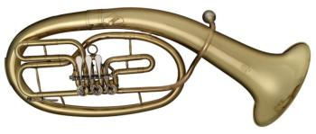 Professional Baritone, 3 rotary valves, in ABS case (ST-77-BAR HG)