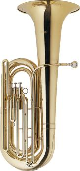 BBb Tuba, 3 top action valves, w/ABS case on wheels (ST-WS-BT235)