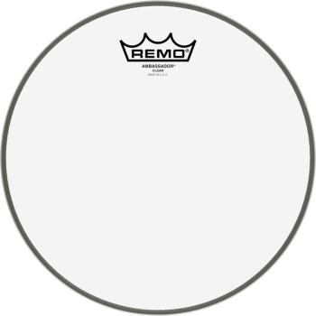 "10"" Ambassador Clear Tom/ Snare head (RE-BA-0310-00)"