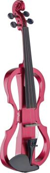 4/4 electric violin set with metallic red electric violin, soft case a (ST-EVN X-4/4 MRD)