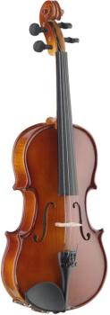 1/2 Solid Maple Violin with ebony fingerboard & standard-shaped soft-c (ST-VN-1/2 EF)