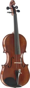 3/4 Hand-Varnished Solid Flamed Maple Violin with Deluxe soft-case (ST-VN-3/4 HG)