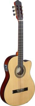 Cereza series cutaway acoustic-electric classical guitar with thin bod (AN-CER TCE S)