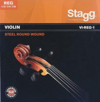 1/2 & 1/4 & 1/8 Violin string set, steel round-wound, extra extra-ligh (ST-VI-REG-1)