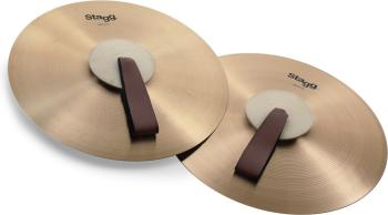 "16"" Marching/Concert cymbals - Pair (ST-MASH16)"