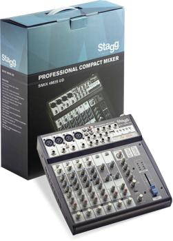 Multi-channel stereo mixer with 2-4 mono, 2 stereo input channels + US (ST-SMIX 4M2S UD*US)