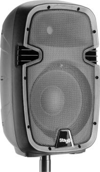 """10"""" 2-way active speaker, analog, class A/B, with Bluetooth and reverb (ST-PMS10 US)"""