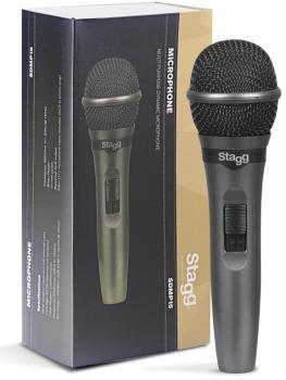 Cardioid dynamic microphone for live performances (ST-SDMP15)