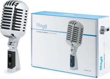 Multipurpose 50s style cardioid dynamic microphone (ST-SDMP40 CR)
