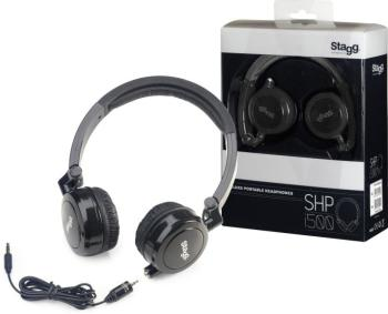 Deluxe Stereo Headphones for mobile devices (ST-SHP-I500 BKH)