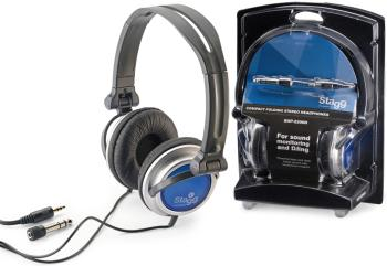 Compact folding, dynamic stereo headphones for Sound Monitoring and (ST-SHP-2200H)