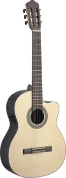 Sauza series cutaway acoustic-electric classical guitar with solid spr (AN-SAU-CFI S)